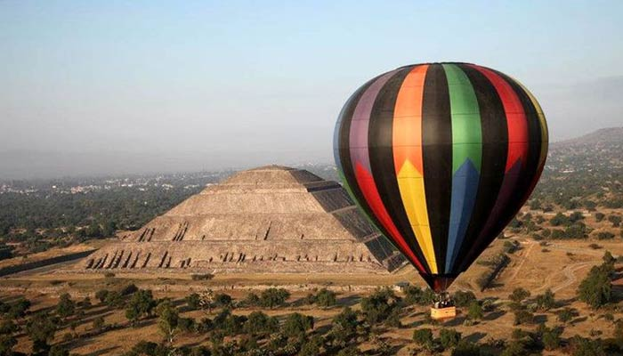 Best places in Mexico for a balloon trip