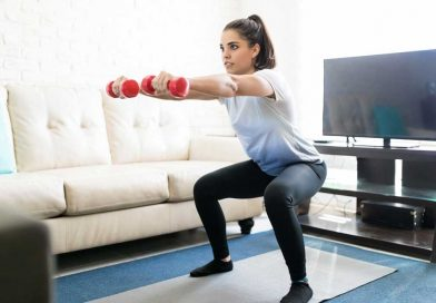 Use Sport clothing to exercise at home